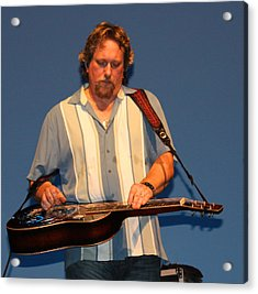 Dobro King Acrylic Print by Wild Expressions Photography