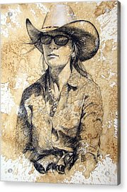 Doc Acrylic Print by Debra Jones