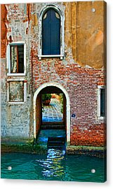 Dock And Windows Acrylic Print