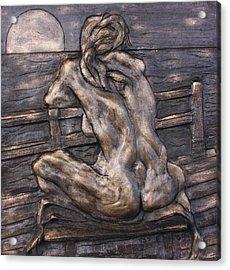 Dock Of The Bay Acrylic Print by Dan Earle
