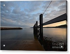 Dock Of The Bay Acrylic Print