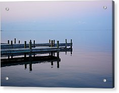 Acrylic Print featuring the photograph Dock On The Indian River by Bradford Martin