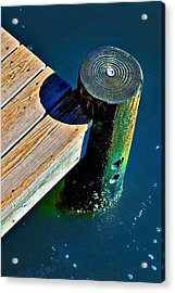 Dock Acrylic Print by Robert Smith