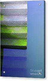 Dock Stairs Acrylic Print