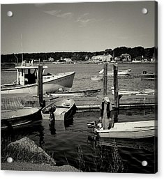 Dock Work Acrylic Print