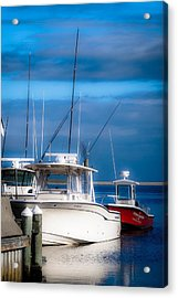 Acrylic Print featuring the photograph Docked And Quiet by Kendall McKernon