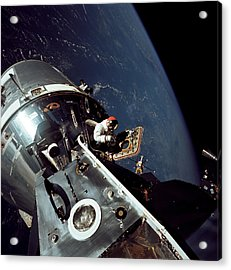 Docked Apollo 9 Command And Service Acrylic Print by Stocktrek Images