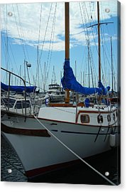 Docking Bay Acrylic Print by Peter Mowry