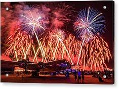 Doc's Fireworks Acrylic Print