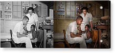 Doctor - Pediatrician - From The Heart 1942 Side By Side Acrylic Print by Mike Savad