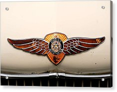 Dodge Brothers Emblem Acrylic Print by David Campione