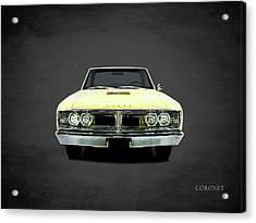 Dodge Coronet 500 Acrylic Print by Mark Rogan