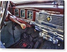 Dodge Dash Acrylic Print by Michael Thomas