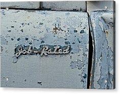 Dodge Pickup - Job Rated Acrylic Print