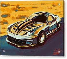 Dodge This Acrylic Print