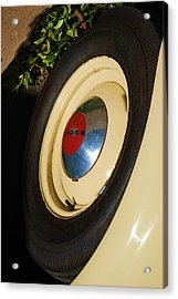 Dodge Tire Acrylic Print by Rob Hans