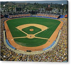 Dodger Stadium Acrylic Print by Panoramic Images