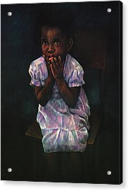 Does Jesus Love Me Acrylic Print by Curtis James