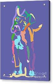 Dog Cookie Acrylic Print