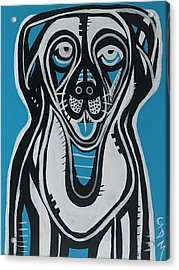 Dog Acrylic Print by Gdm