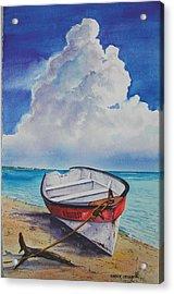 Dog Island Dorie Acrylic Print by Chuck Creasy