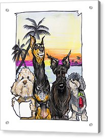 Dog Island Getaway Acrylic Print