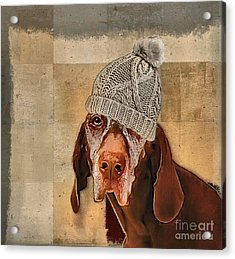 Dog Personalities - 442 Acrylic Print by Variance Collections