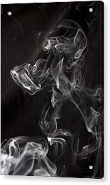 Dog Smoke Acrylic Print by Garry Gay
