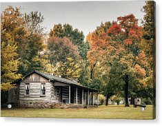 Dogtrot House Acrylic Print by James Barber