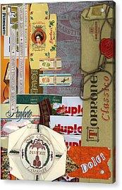 Dolci Acrylic Print by Nancy Ferrier
