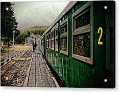Dolene Railway Station Bulgaria Acrylic Print