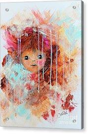 Doll Acrylic Print by Jutta Maria Pusl
