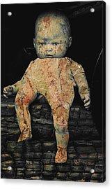 Doll R Acrylic Print