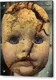 Doll Trauma Acrylic Print by Anthony Caruso