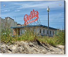 Acrylic Print featuring the photograph Dolles Candyland - Rehoboth Beach Delaware by Brendan Reals