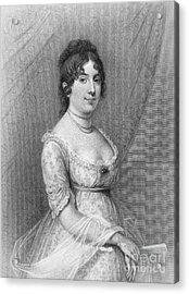 Dolley Madison (1768-1849) Acrylic Print by Granger