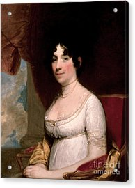 Dolley Madison, First Lady Acrylic Print by Science Source
