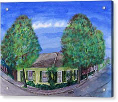 Dolliole Cottage Acrylic Print by Tom Hefko