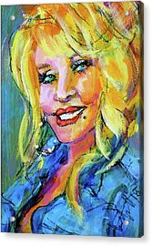 Dolly Acrylic Print