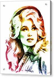 Dolly Parton Collection - 1 Acrylic Print