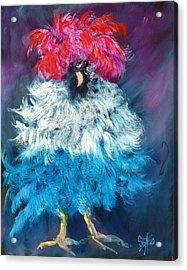 Dolly Acrylic Print by Sally Seago