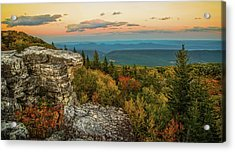 Dolly Sods Autumn Sundown Acrylic Print