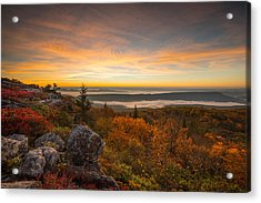 Dolly Sods Wilderness Peak Fall Sunrise Acrylic Print