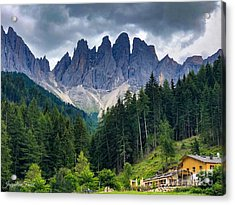 Dolomite Drama Acrylic Print