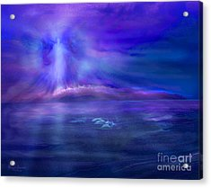 Dolphin Dreaming Acrylic Print