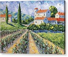 Domaine De Beaumet Provence Acrylic Print