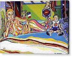 Domaine De Dominique Acrylic Print