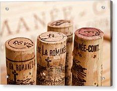 Domaine De La Romanee-conti Acrylic Print by Frank Tschakert