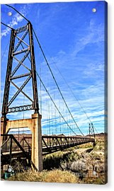 Acrylic Print featuring the photograph Dome Bridge by Robert Bales