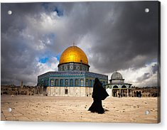 Acrylic Print featuring the photograph Dome Of The Rock by Marji Lang